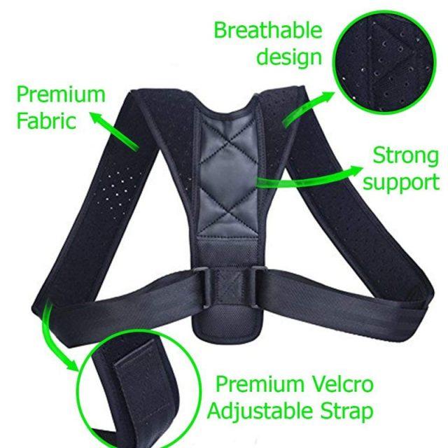 Adjustable Posture Correcting Support