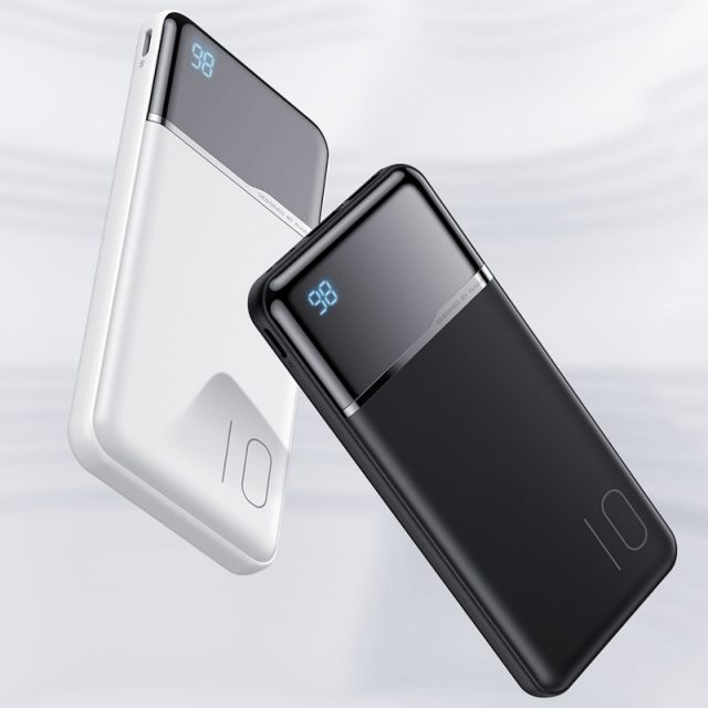 Portable Power Bank with Digital Display