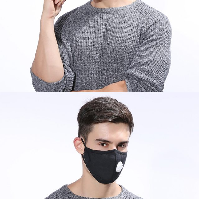 Anti-Pollution Respirator Mask